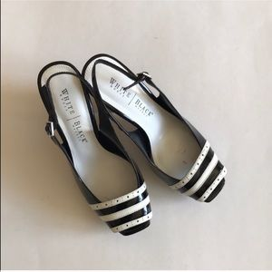 White House Black Market Slingback Shoes